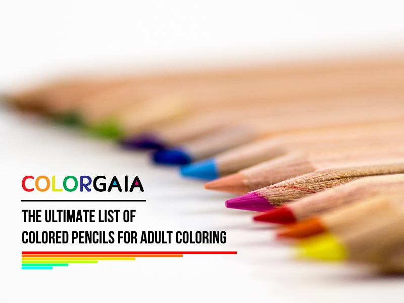 Coloring Supplies and Tools - Pencil, Pen, and Marker Info | ColorGaia