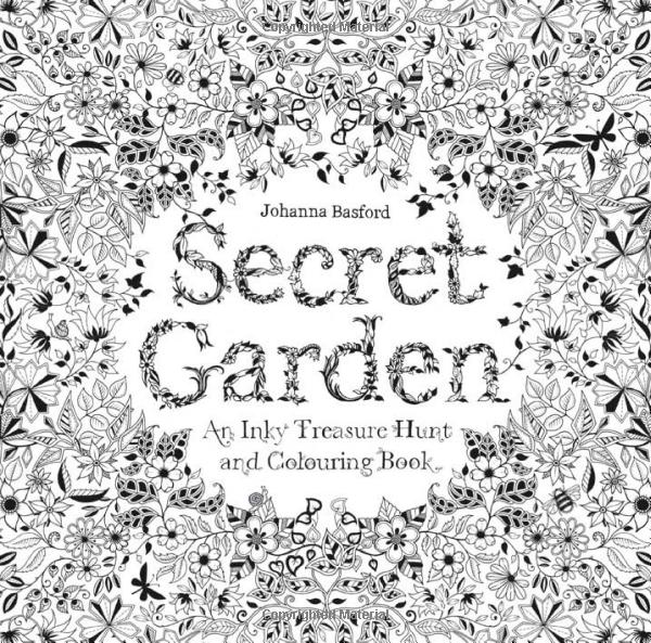 Secret Garden Coloring Book Review