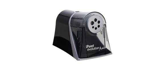 An electric sharpener which can damage colored pencils