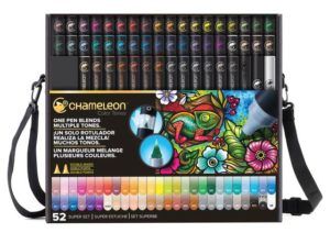 A set of 52 Chameleon Color Tone pens, an alternative to Copic markers