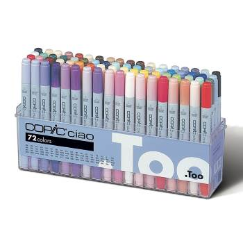 A set of 72 Copic Ciao markers