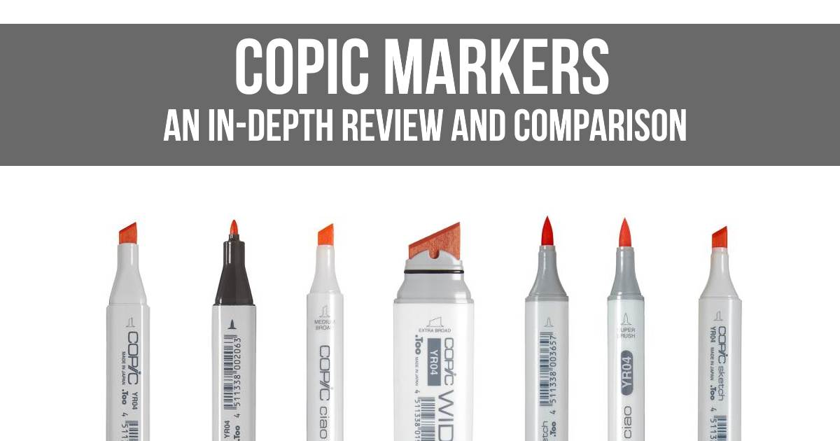 Copic Markers An In Depth Review And Comparison Colorgaia