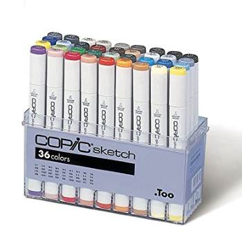 Copic Sketch 36 Marker Set