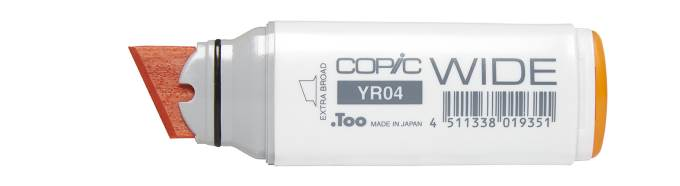 Copic Wide Marker Uncapped