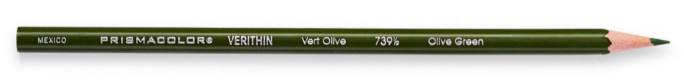 Prismacolor Verithin Olive Green Pencil
