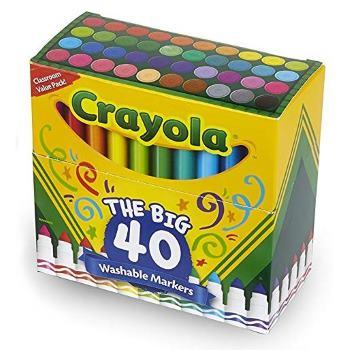 Crayola Classic Washable Markers