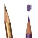 Prismacolor Verithins can be sharpened to a  fine, long-lasting tip